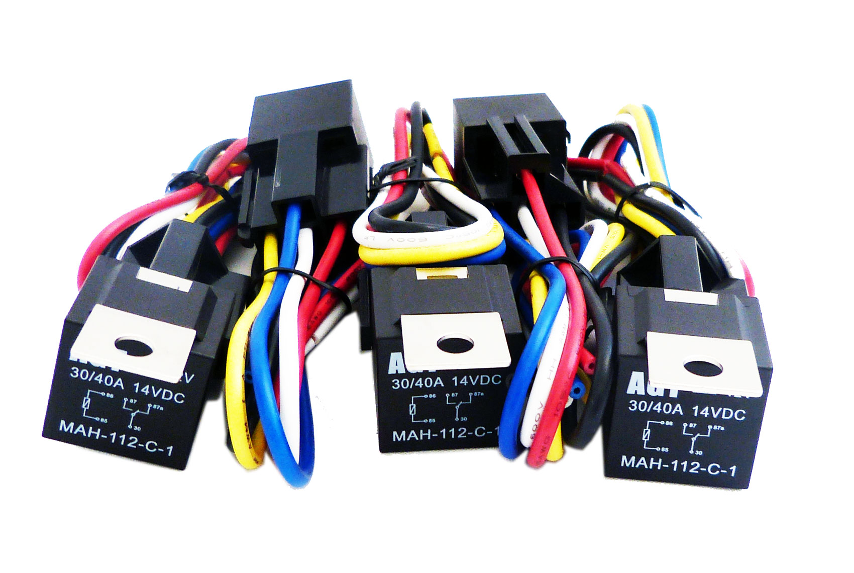 Genssi Automotive Relay And Harness Pack Of 5 5x40amp Hrns 1399 Pontiac Wiring Ebay