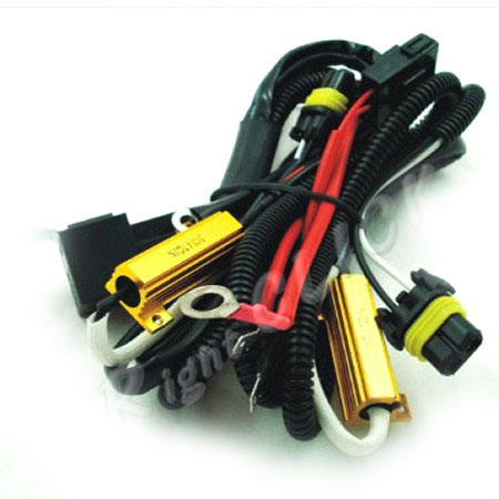 50W Relay hid kit wire relay harness w flicker plugs [50w rly] $21 99  at gsmx.co