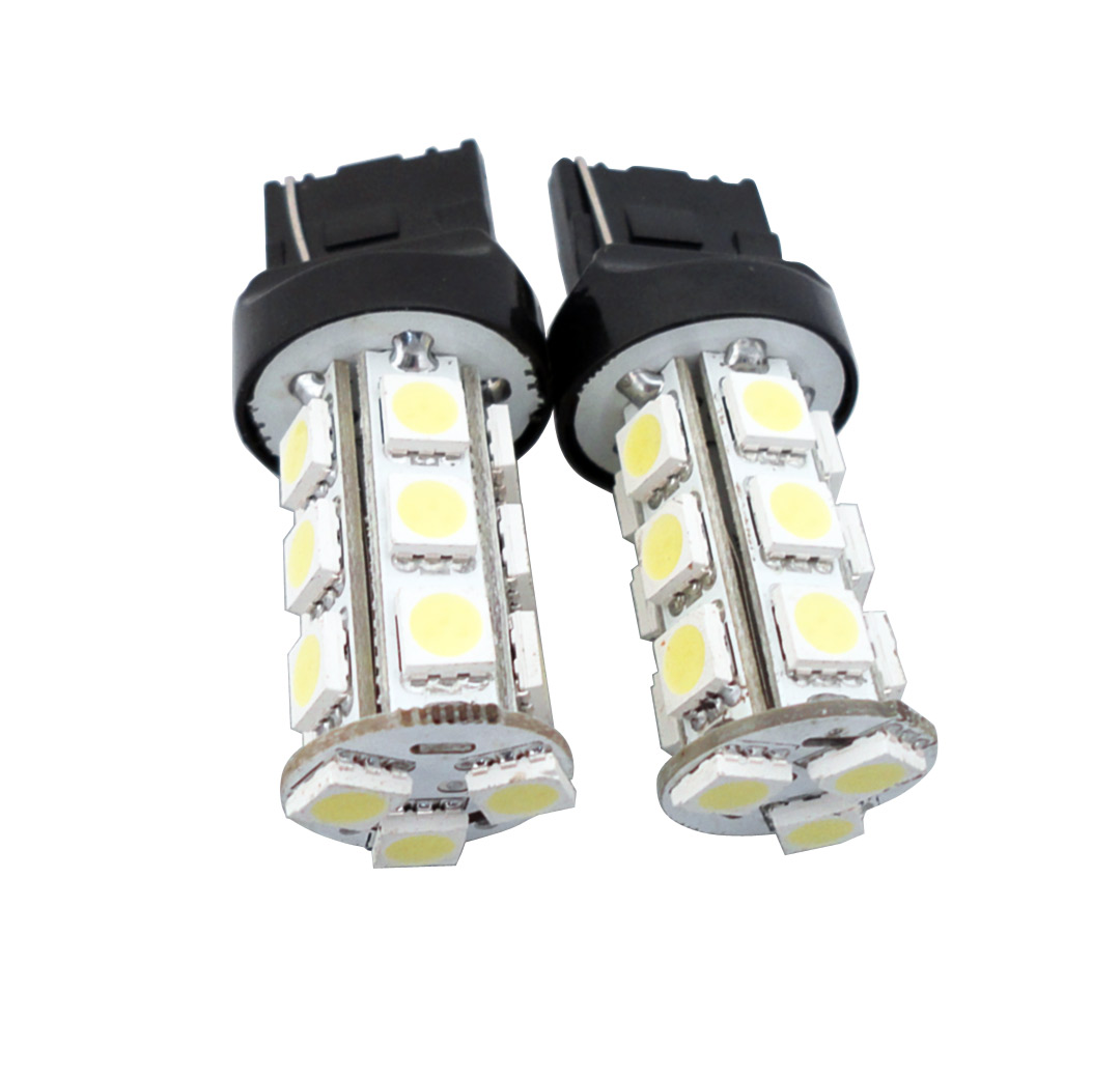 7440 White LED Lights Tail/Park Lamp [7440-18SMD-W] - $14.99