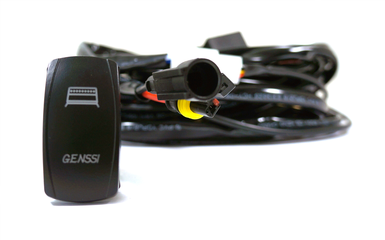 GEN RLY_3 led light bar wiring harness and led switch kit [gen rly] $29 95 boat wiring harness kit at bakdesigns.co