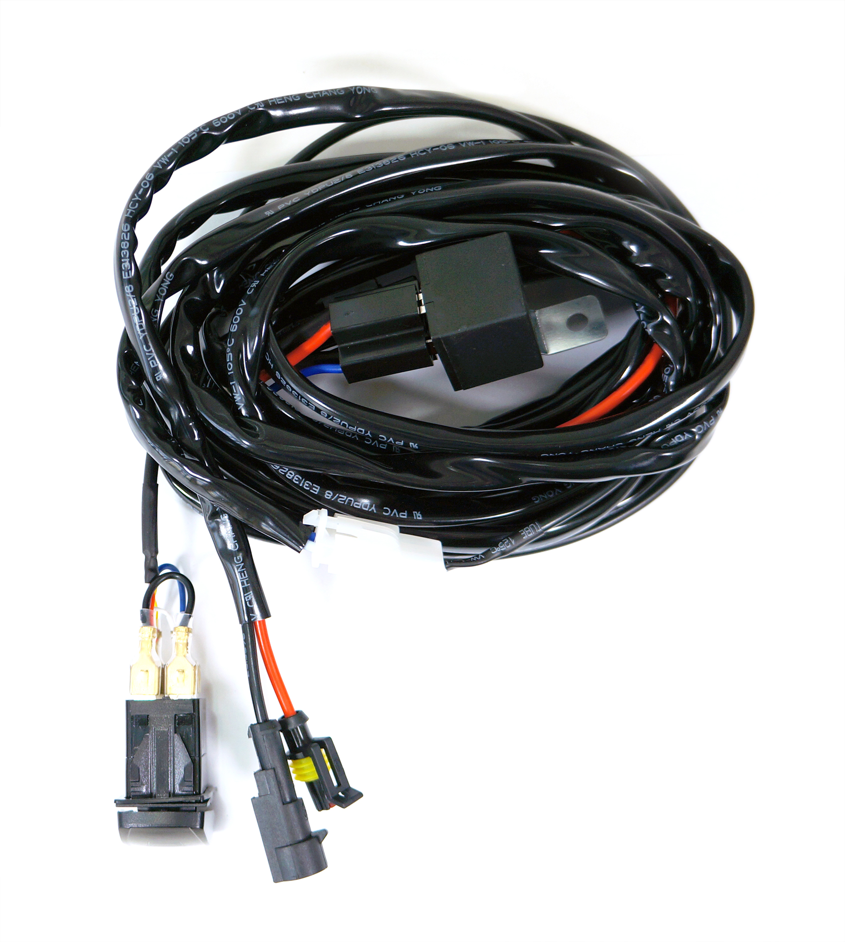 wiring harness kit wiring diagram and hernes kawell 2 leg wiring harness include switch kit support 120w led