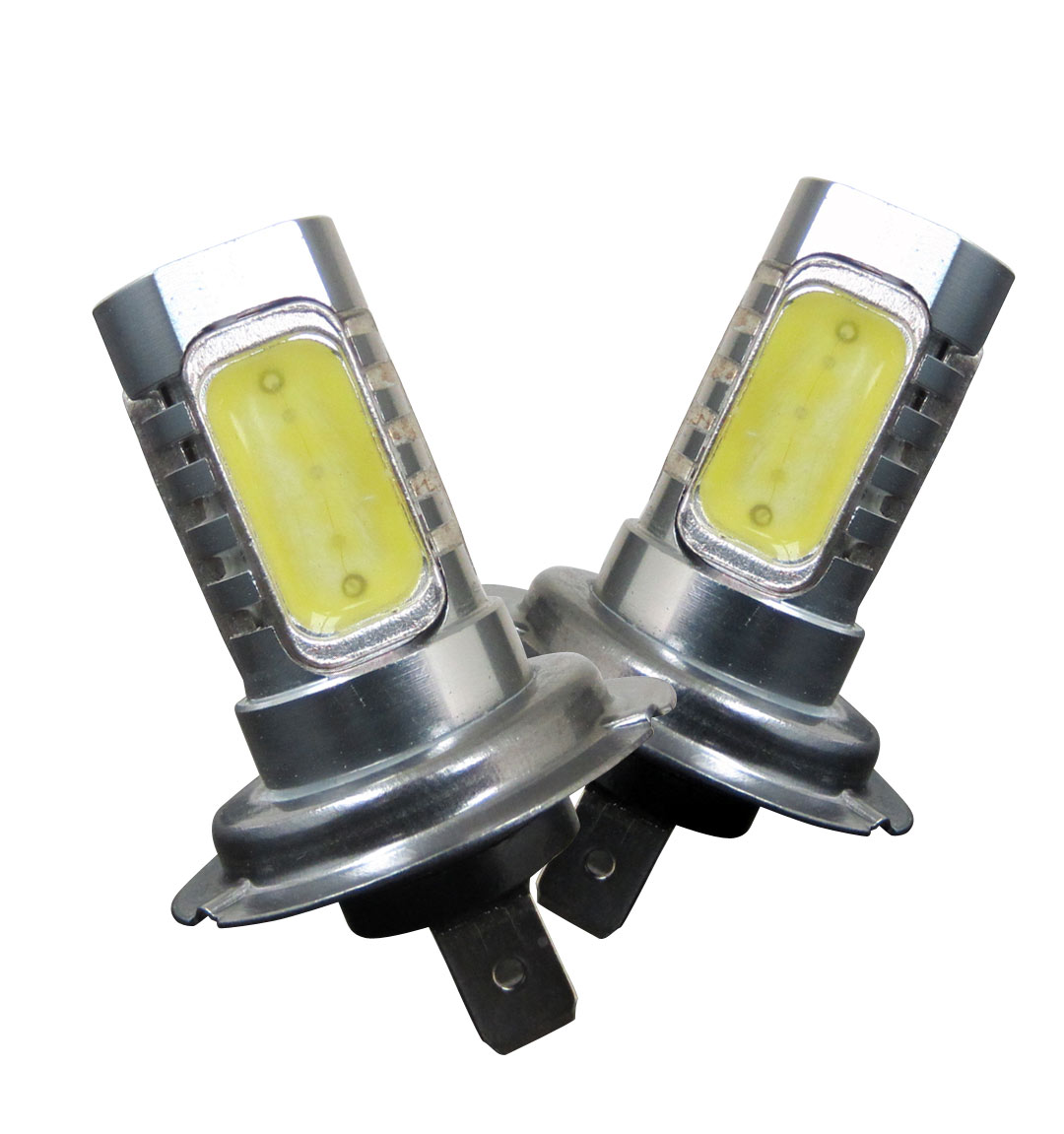H7 LED Bulbs 6W [2x H7-6W-W] - $19.99