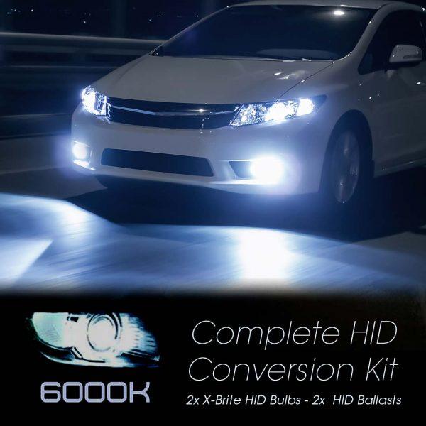 6000K HID Conversion Kit
