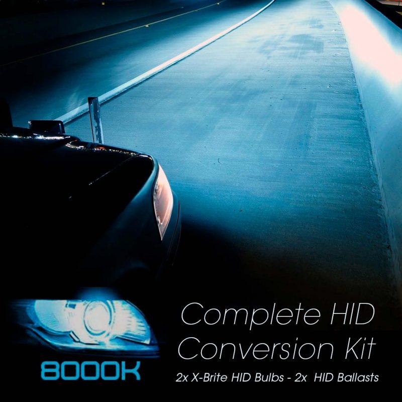 LAND ROVER RANGE ROVER SPORT 02//05 HID Xenon Bulbs H7 8000K 12V 35W Blue//White