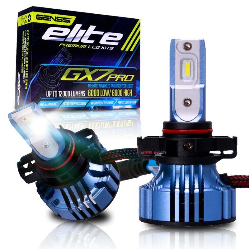 GX7 PRO Elite LED Headlight Conversion Kit 6500K Bulbs 12000LM