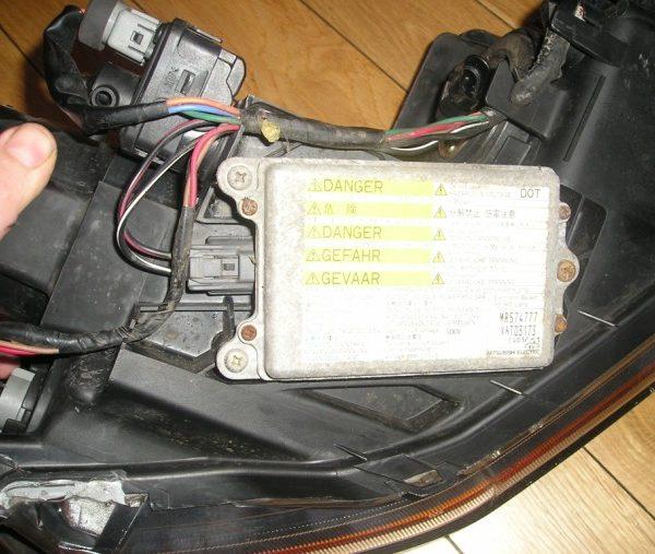 lexus is300 headlight ballast replacement