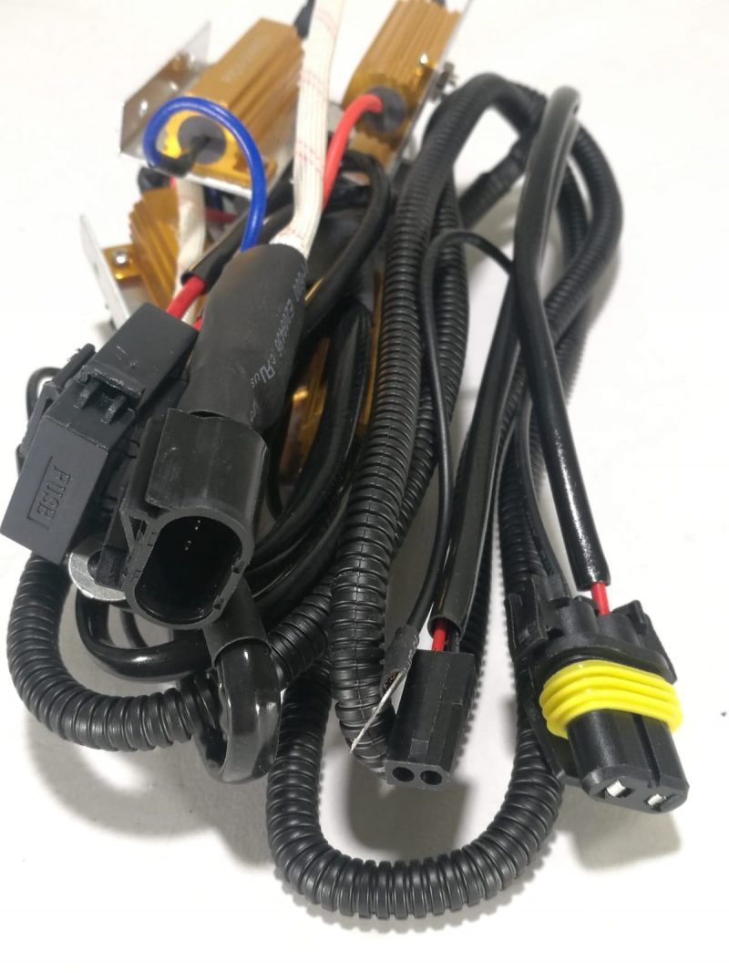 HID Bi-Xenon Resistor Kit Relay Harness Adapter Anti Flicker Error on